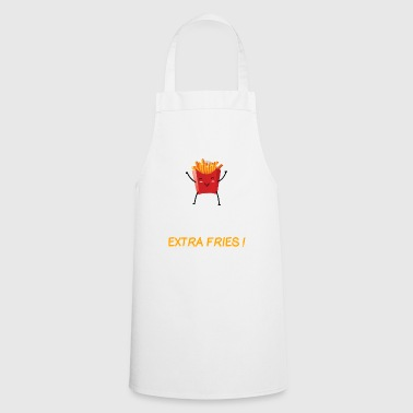 Exercise I Thought You Said Extra Fries Graphic - Cooking Apron