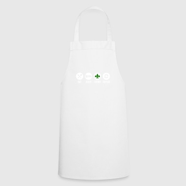 Eat Sleep Scout Repeat - Cooking Apron