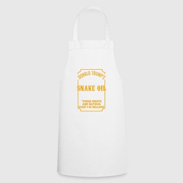 SNAKE OIL SALESMAN - Cooking Apron