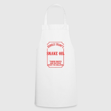 SNAKE OIL SALESMAN Red - Cooking Apron