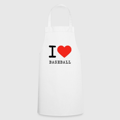 I love baseball - Cooking Apron