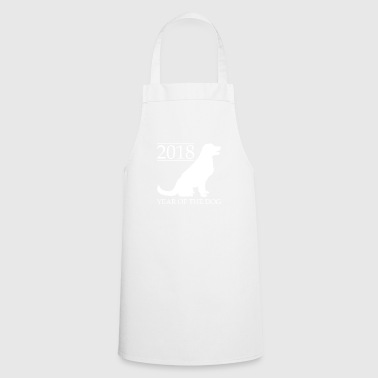 2018 Year Of The Dog Chinese Year Celebrate - Cooking Apron