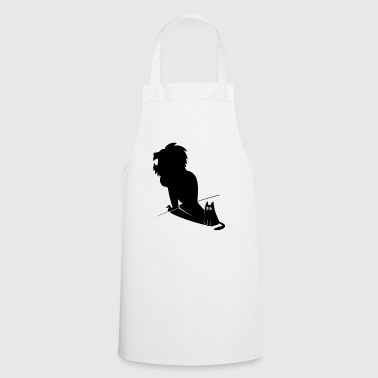 Furry Cat & Lion Shadow Design - Cooking Apron