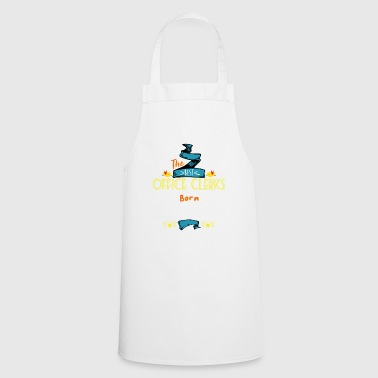 Best Office Clerks are Born in January Gift Idea - Cooking Apron