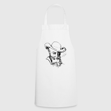 Man with hat - Cooking Apron