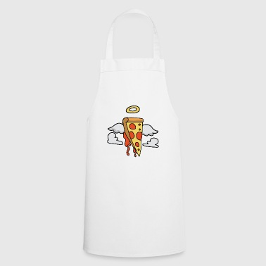 The sacred pizza piece of gift halo - Cooking Apron