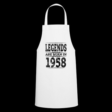 Legends are 1958 Born 60th Birthday Gift - Cooking Apron