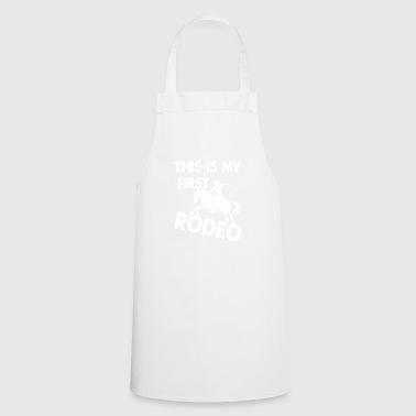 Rodeo, horses, T-shirt - Cooking Apron