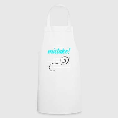 Choir Director Mistake Soprano Alto Tenor Bass Tea - Cooking Apron
