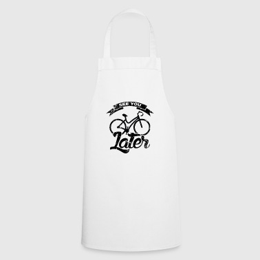 Say Vintage Cycling Road Bike Gift Sport Wheel - Cooking Apron