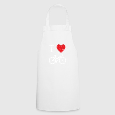 Cycling Gift Bicycle Kids Heart Bike Road Bike - Cooking Apron