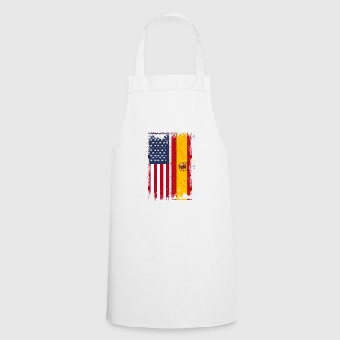 USA Spain Friendship american vintage - Cooking Apron