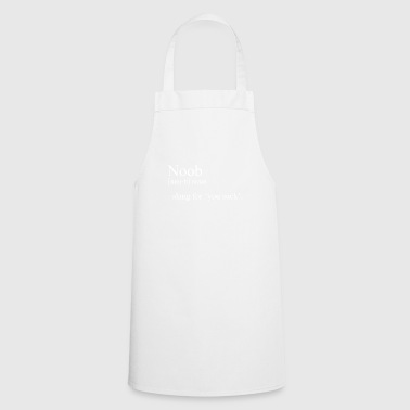 Noob shirt - Cooking Apron