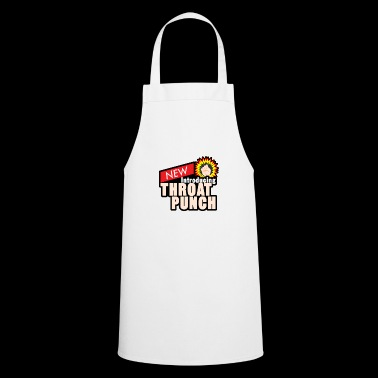 throat punch - Cooking Apron