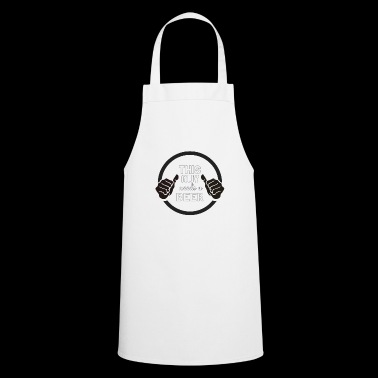Guy need beer - Cooking Apron