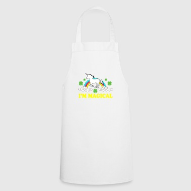 I am Magical Unicorn St Patrick's Day T-Shirt Fun - Cooking Apron