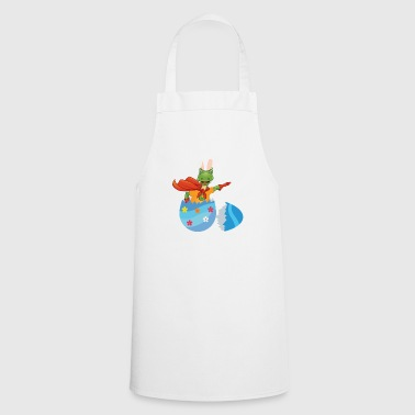 Happy Easter Easter egg Dino Trex T-Rex chicks egg - Cooking Apron