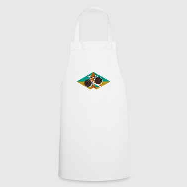 Road bike geometric - bicycle gift - Cooking Apron