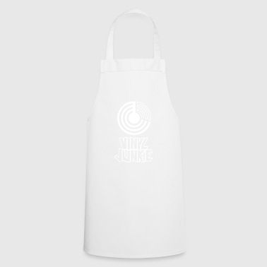 Vinyl junkie music - Cooking Apron