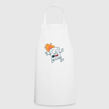 Marshmallow in flame - Cooking Apron