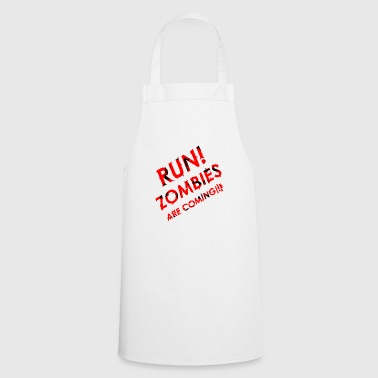 RUN! Zombies are coming - Cooking Apron