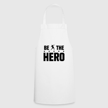 be the hero at the shot put - Cooking Apron