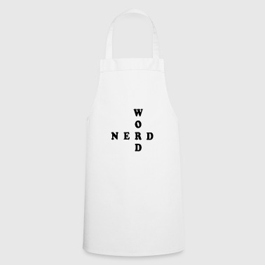 Word Nerd Word Game Gift - Cooking Apron