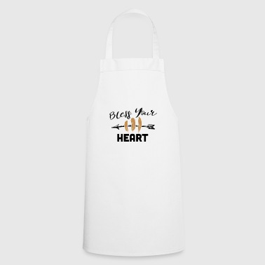 Bless Your Heart T-Shirt - Cooking Apron