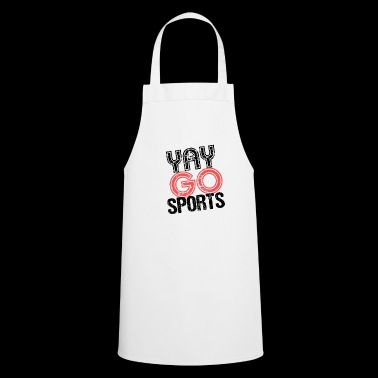 Yay Go Sports TShirt ironie - Tablier de cuisine