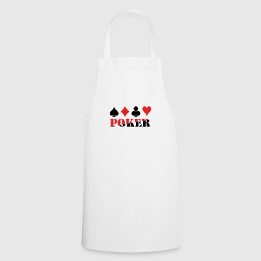 Poker - Ace - Casino - Tablier de cuisine