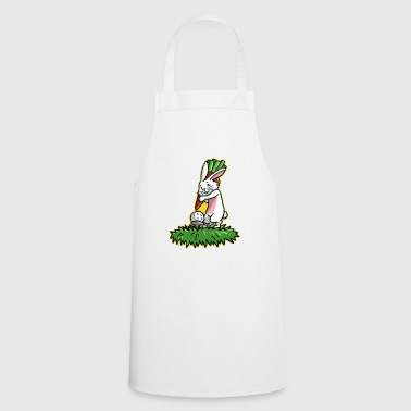 I love golf golfer easter bunny gift easter - Cooking Apron