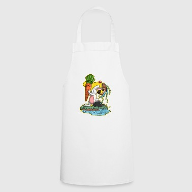 I love fishing fishing trout bunny gift - Cooking Apron
