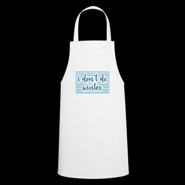 Winter Gift Weather Weather - Cooking Apron