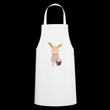 Cute Easter Bunny Girl Egg Hunt - Cooking Apron