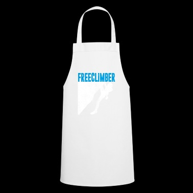 Free climber shirt with climber - Cooking Apron