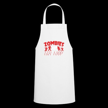 Zombies Hates Fast Food Camiseta - Delantal de cocina