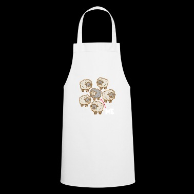 Black sheep - me - different - unusual - Cooking Apron