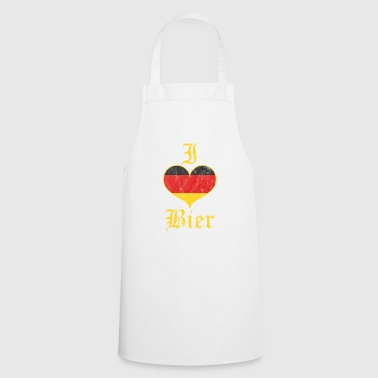 I love beer - gift - Cooking Apron