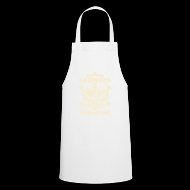 Engineer technician civil engineer computer gift - Cooking Apron