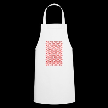 Advent Christmas Calendar Countdown December - Cooking Apron
