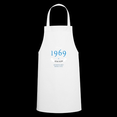 1969 year of birth birthday gift pride birth - Cooking Apron
