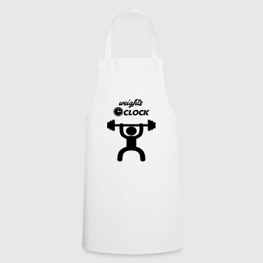 weights oclock - Cooking Apron