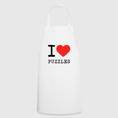 I love puzzles - Cooking Apron