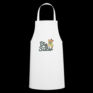 BIG SISTER, BIG SISTER, White - Cooking Apron