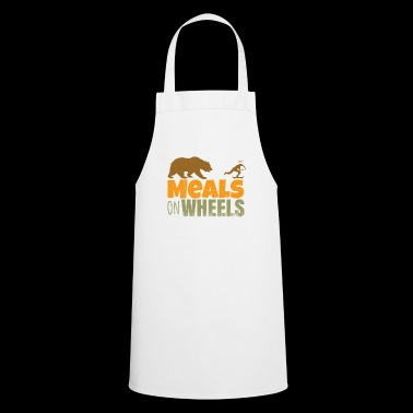 skateboard - meals on wheels - Delantal de cocina