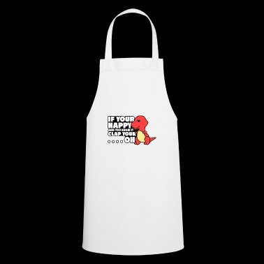 If you happy and you know it clap your dino pitch - Cooking Apron