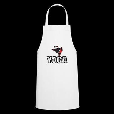 Dancing Yoga Bear Vintage Retro New Age - Cooking Apron
