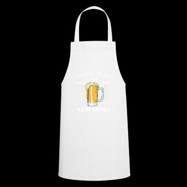 Country Music Beer Beer Glass Drink Irish Pub Bar - Cooking Apron