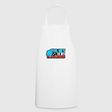 the sky is my playground - Cooking Apron