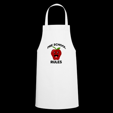 preschool rules - Cooking Apron